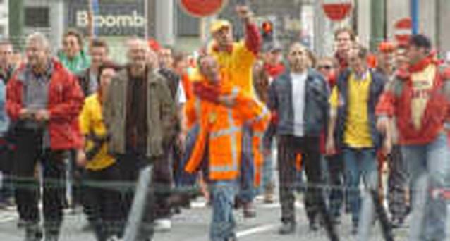 Geduld Dhl Werknemers Is Op Het Nieuwsblad