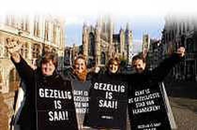 Gent gezelligste stad  van Vlaanderen