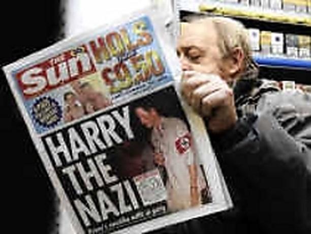Harry Hitler schokt Groot-Brittannië
