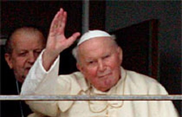 De paus breekt alle records