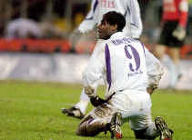 Mbo Mpenza niet gelukkig op Anderlecht