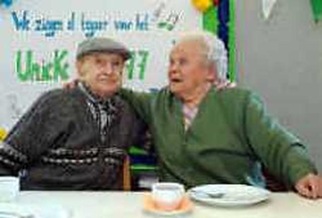 Eeuwige liefde bestaat echt: Karel en Lies 77 jaar getrouwd