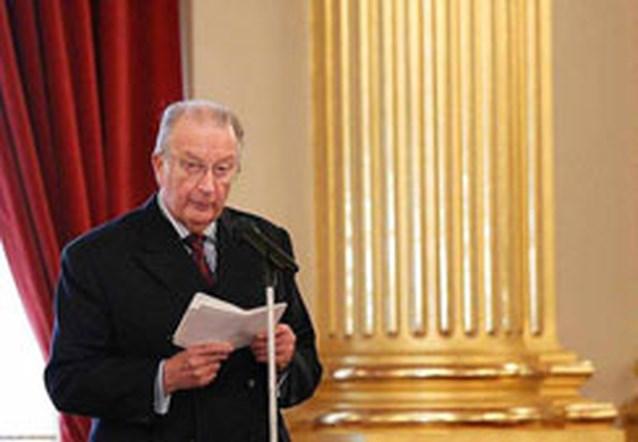 Koning Albert waarschuwt voor ,,rampzalig'' separatisme