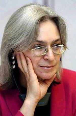 Russische journaliste Anna Politkovskaja vermoord