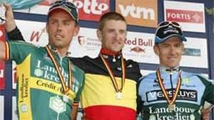 Roel Paulissen is Belgisch kampioen