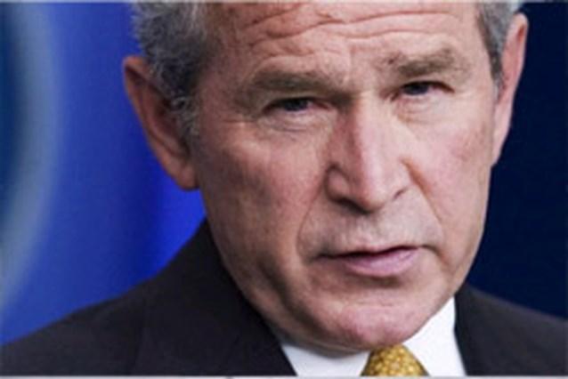 Bush laat puinhoop achter
