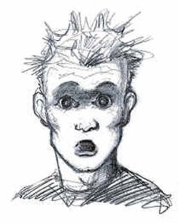20-jarige 'Joker' lacht gruwel weg