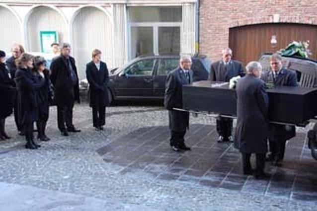 Afscheid van kunstenaar Luc Verstraete