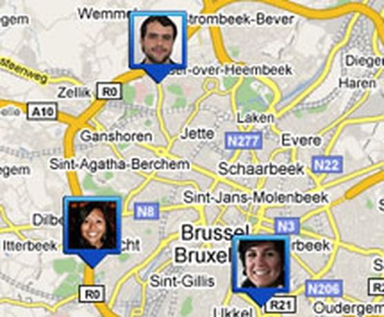 Met Google Latitude zien waar je vrienden zijn
