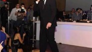 Rappende Joaquin Phoenix op de vuist met toeschouwer