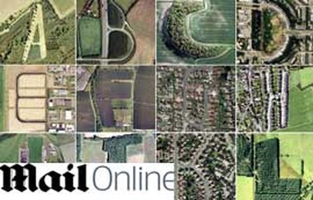 Journaliste vormt alfabet met beelden uit Google Earth