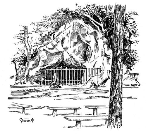 Gezocht: Lourdesgrotten