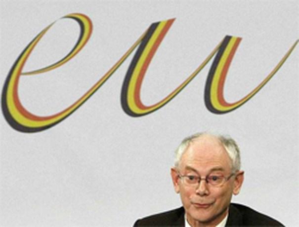 Van Rompuy bovenaan bij bookmakers