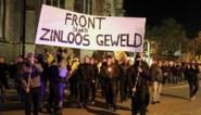 Betoging loopt uit de hand: 200 aanhoudingen