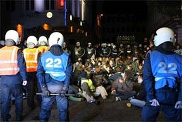 409 aanhoudingen na betogingen in Gent