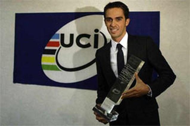 Alberto Contador is beste wielrenner van 2009