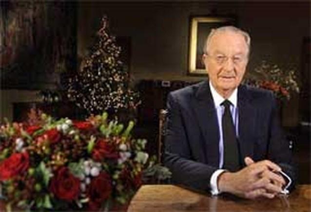Koning looft Van Rompuy en Damiaan