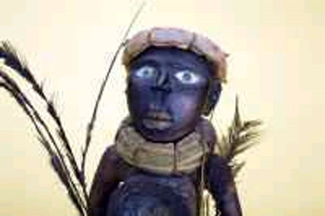 Goedkoop beeldje blijkt peperduur Congolees kunststuk