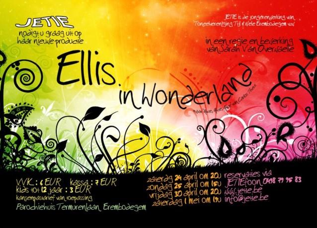 Jongeren En Toneel In Erembodegem brengen Ellis in Wonderland