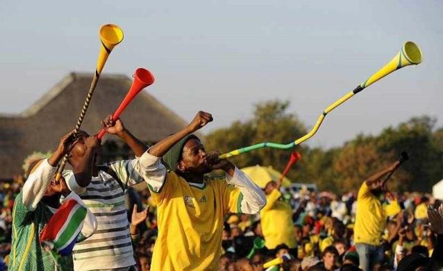 Vuvuzela is gevaarlijk