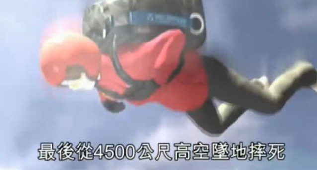 VIDEO: Clottemans schuldig in Taiwanees filmpje over parachutemoord