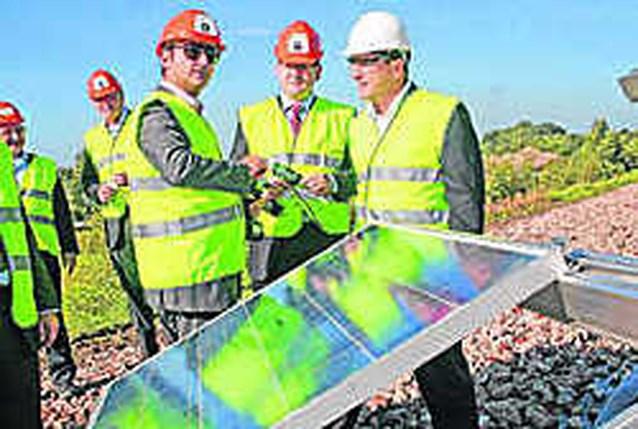 Zonnecentrale Limburg bouwt grootste zonnepanelenpark