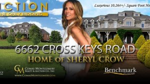 Sheryl Crow verkoopt villa online