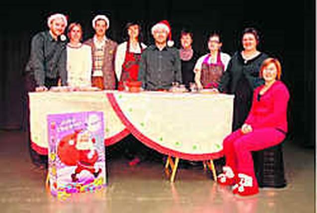 Theatergroep Gustaaf viert feest