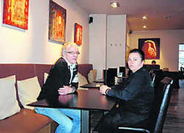 Ex-bakker opent restaurant met kunst aan de muren