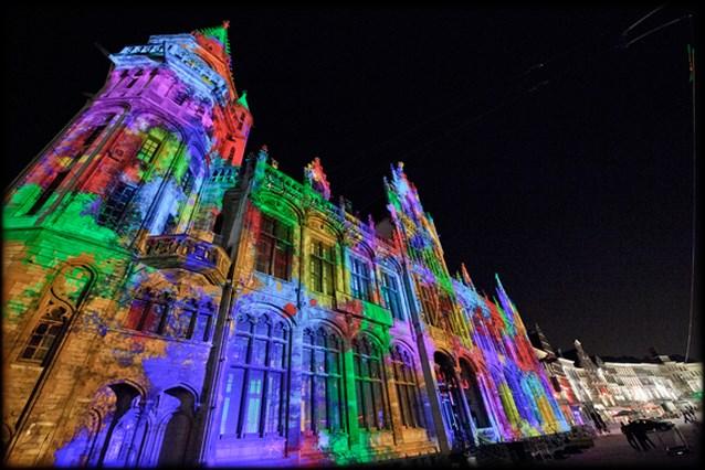 Gents lichtfestival overrompeld met 80.000 bezoekers