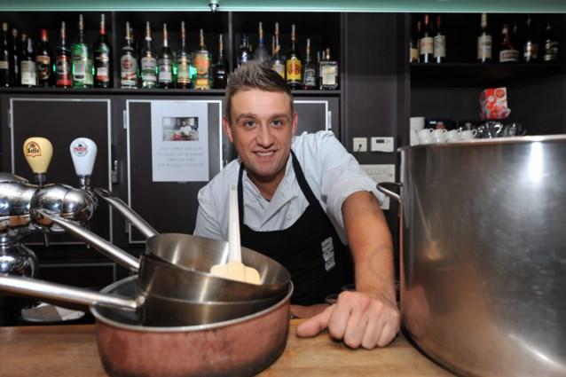 Nico Saveyn is chef kok in Bistro Bijloke