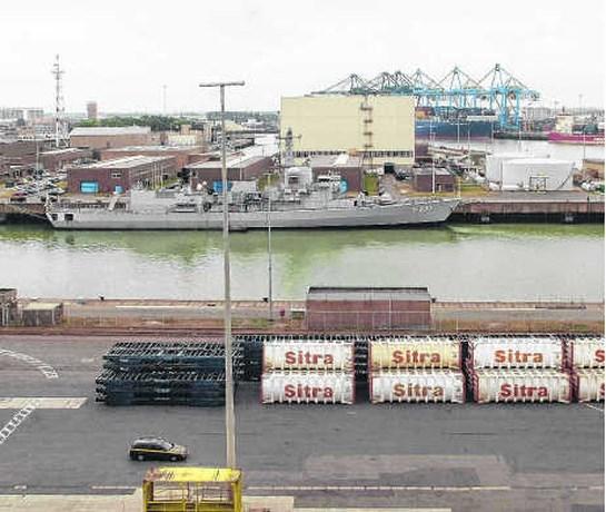 Haven wil stuk marinebasis inpalmen voor cruises