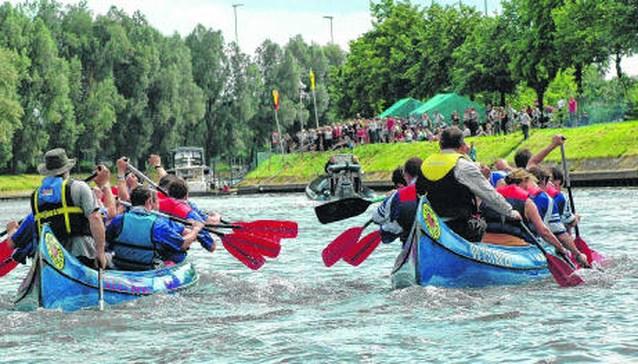Regatta Leie start aan Sint-Poppo