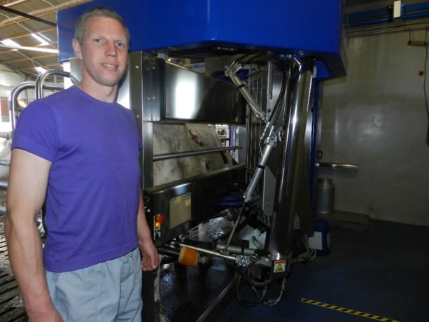 Melkveebedrijf Bart Van de Vloet gebruikt nieuwste melkrobot