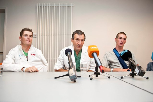 Dokter Claes: 'Volgende week meer duidelijkheid over Vuelta-deelname VdB'