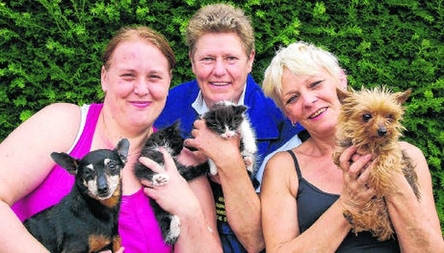 Huisdieren massaal gedumpt tijdens vakantie