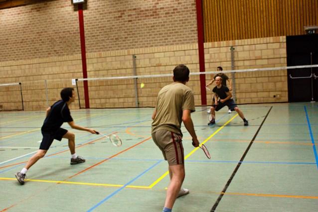 Mep de stress van je af bij badmintonclub 't Veerle