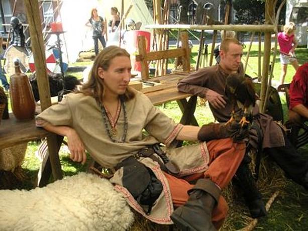 Ridders van Pendragon op kamp