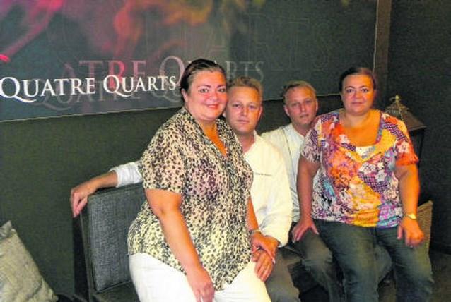 Twee tweelingen runnen restaurant Quatre Quarts