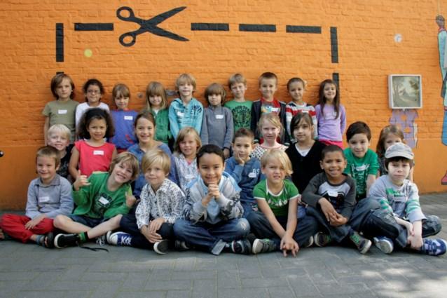 De Spiegel School.De Eerste Schooldag In De Spiegel Antwerpen Het Nieuwsblad