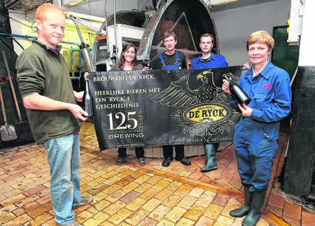 Brouwerij De Ryck viert 125ste verjaardag met feestbier