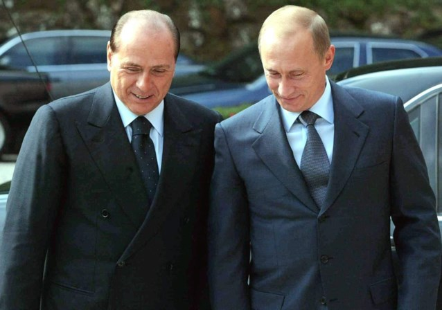 Poetin: 'Berlusconi is slachtoffer van jaloezie'