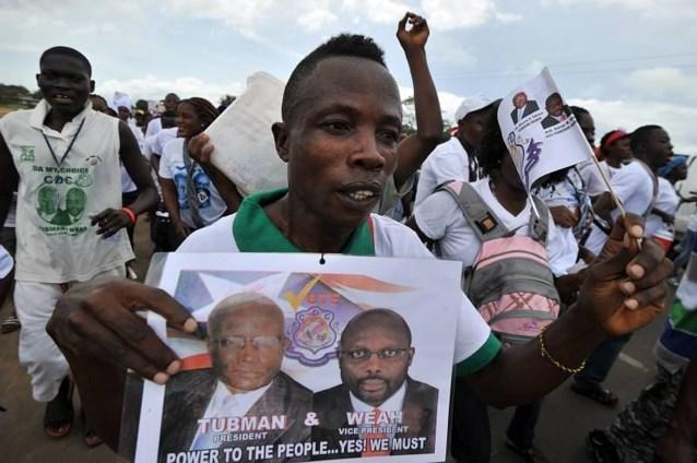 Liberiaanse oppositie laakt Nobelprijs voor president