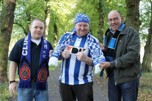 Duel tussen AA Gent en Club Brugge... in quotes