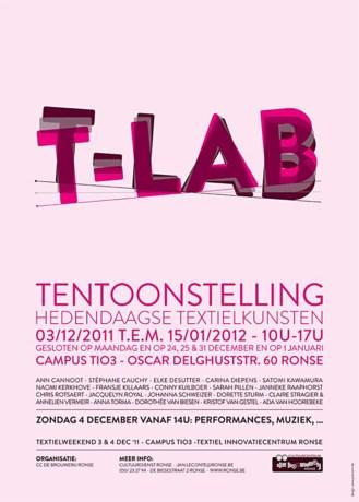 T-Lab toont hedendaagse textielkunsten