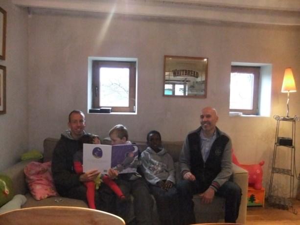 Te gast bij het pleeggezin van Walter en Jo in Bierbeek