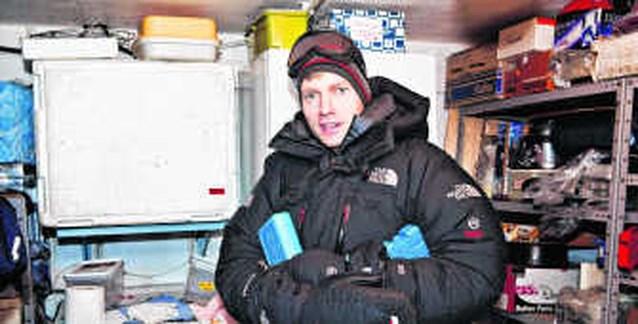 Leraar Sint-Hendrik op expeditie naar Antarctica