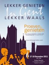 'Lekker genieten, Lekker Waals in Gent' op zaterdag 17 en zondag 18 december