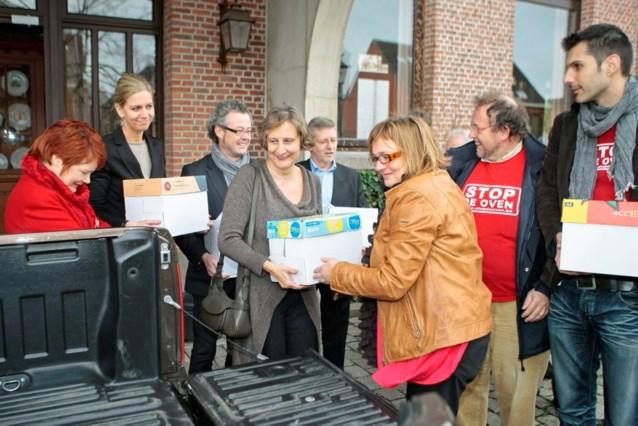 Dertienduizend brieven tegen verbrandingsoven