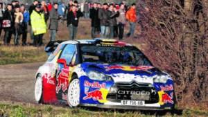 Thierry Neuville tweede na openingsdag in rally van Luxemburg